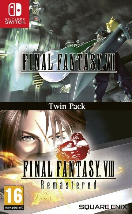 Final Fantasy VII / Final Fantasy VIII Remastered Twin Pack