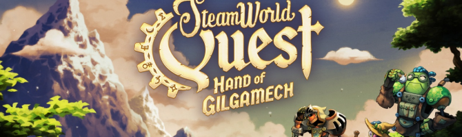 Anmeldelse: SteamWorld Quest: Hand of Gilgamech